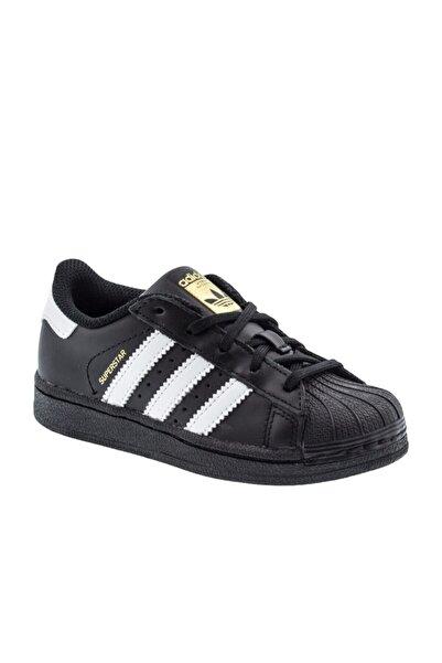adidas SUPERSTAR FOUNDATION EL C Siyah Erkek Çocuk Sneaker Ayakkabı 100252645