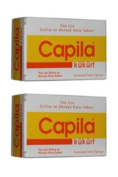 Capila Kükürtlü Sabun Sarı Kutu 90 gr X 2 Adet