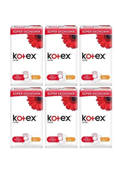 Kotex Ultra Quadro Normal 26'lı Kadın Pedi 6 Adet