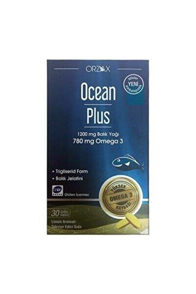 Ocean Plus 1200 Mg Balık Yağı Omega 3 30 Kapsül