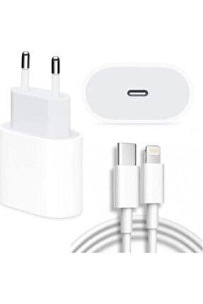 Iphone Uyumlu 11-11 Pro - 12 Pro Max Için 20 W (şarj Aleti Lightning Kablosu Set