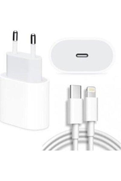 SANALİNK Iphone Uyumlu 11-11 Pro - 12 Pro Max Için 20 W (şarj Aleti Lightning Kablosu Set