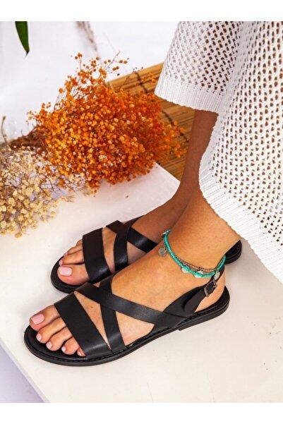 ayakkabıhavuzu Terlik - Siyah - Ayakkabı Havuzu