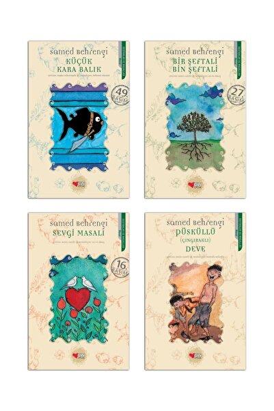 Can Çocuk Yayınları Küçük Kara Balık-püsküllü Deve-sevgi Masalı-bir Şeftali Bin Şeftali-samed Behrengi 4 Kitap Set