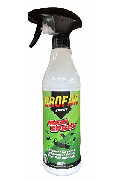 Brofar Maxi Sivrisinek-karasinek-tahtakurusu-karınca-pire-hamamböceği Sprey 450 Ml