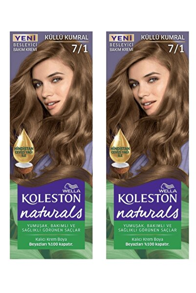 Koleston Naturals Saç Boyası 7/1 Küllü Kumral X2 Adet