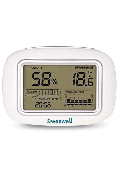 WEEWELL Oda İçi Dijital Nem Ve Sıcaklık Ölçer Higro Termometre Whm140