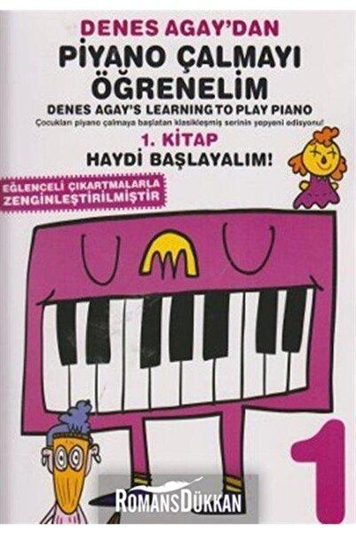Porte Müzik Eğitim Merkezi Denes Agay'dan Piyano Çalmayı Öğrenelim 1. Kitap & Eğlenceli Çıkartmalarka Zenginleştirilmiştir