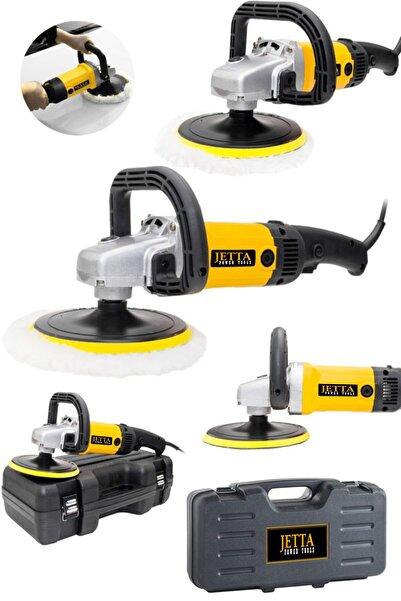 Jetta Power Tools Jetta Profesyonel Devir Ayarlı 1300 Watt 180mm 6 Kademeli Polisaj Makinesi Pasta Cila Kiti