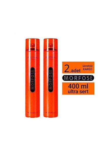 Morfose Saç Spreyi Ultra Strong Turuncu 400 ml 2adet