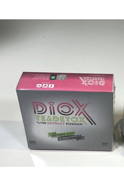 Diox Tea Detox 30günlük 60 Adet Içerik