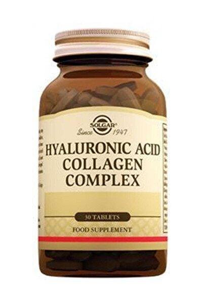 Solgar Hyaluronic Acid Collagen Complex 120 Mg - 30 Tablet