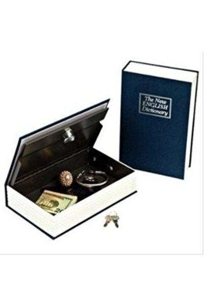 HAMAHA Hambag Kitap Şeklinde Gizli Kasa Hırsız Kilitli Sözlük Para Kumbarası