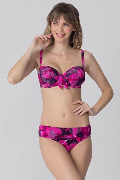 Kom Rodoni Ayarlanabilir Dekolte Bikini