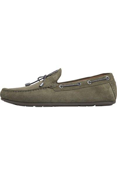 Tommy Hilfiger Suede Interlace Loafer Ayakkabı