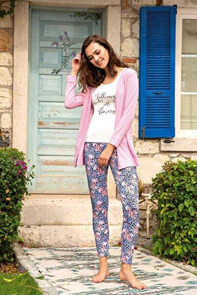 Berrak Kadın Üçlü Pijama Takımı