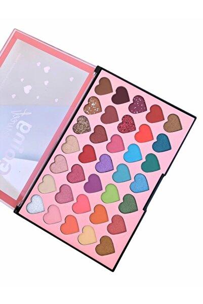 Roesıa Rose Cosmetics Anylady Kalp Model Far Paleti & Going Sweet Eyeshadow Palette 35'li