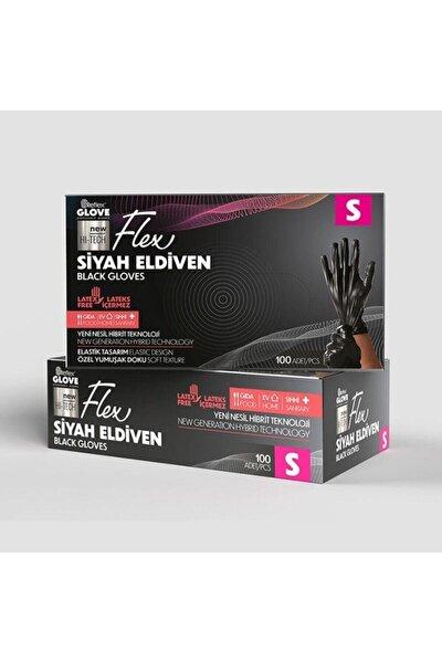 REFLEX GLOVE Flex Glove Pudrasız 100 Lü Siyah / S -beden