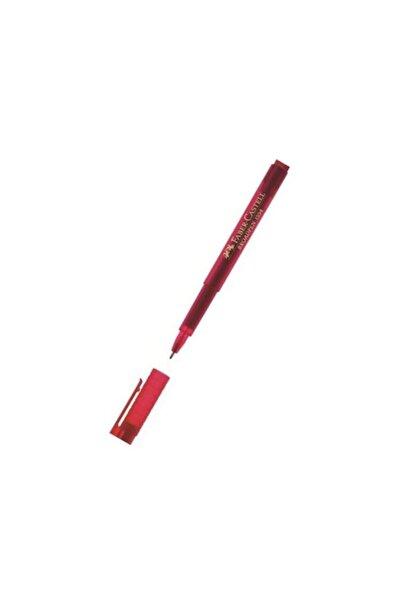 Faber Castell Broadpen Kırmızı Keçeli Kalem 155421