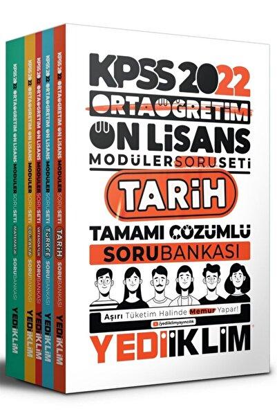 Yediiklim Yayınları 2022 Kpss Ortaöğretim Ön Lisans Gy-gktamamı Çözümlü Modüler Soru Bankası Seti