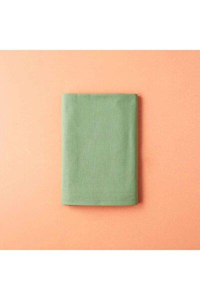 Bella Maison Açık Yeşil Pamuk Ranforce Tek Kişilik Lastikli Çarşaf 100x200 cm