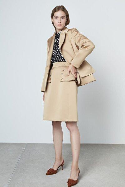 Machka Saten Düşes Ceket