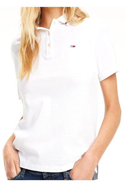 Tommy Hilfiger Kadın Polo Yaka T-shirt