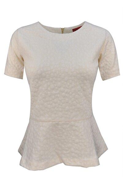 Hugo Boss Kadın Beyaz Bluz D002685