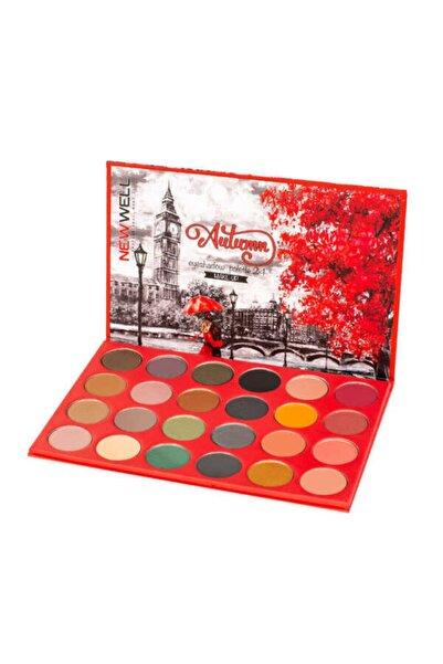 New Well Autumn Eyeshadow Palette - 24