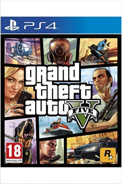 RockStar Games Grand Theft Auto (gta) 5 Premium Edition - Playstation 4 Oyunu