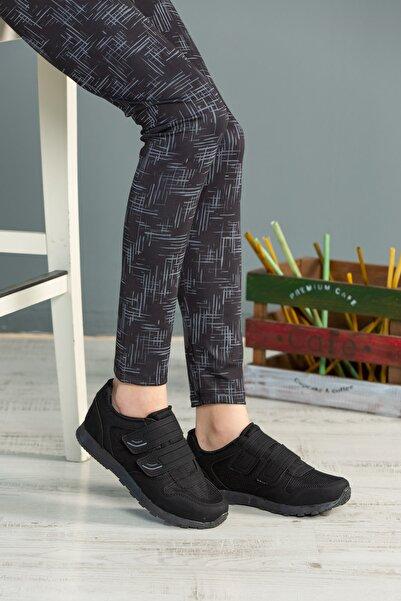 speedlife Kadın Siyah Füme Bağcıklı Ayakkabı