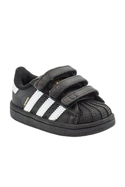 adidas SUPERSTAR CF I Siyah Erkek Çocuk Kalın Tabanlı Sneaker 100662683