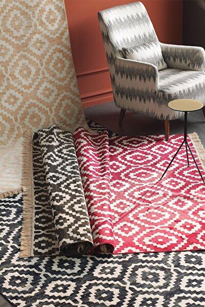 Enza Home Soho Morocco Modern Özel Tasarım Dokuma Halı - Açık Gri 120x180