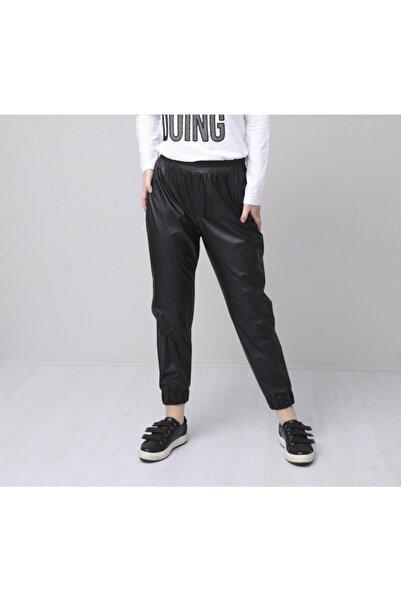 Moodbasic Kadın Deri Pantolon
