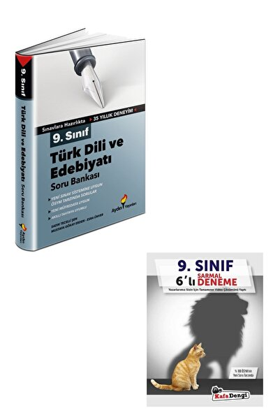 Aydın Yayıncılık Aydın 9.sınıf Türk Dili Ve Edebiyatı Soru Bankası Ve Deneme Seti