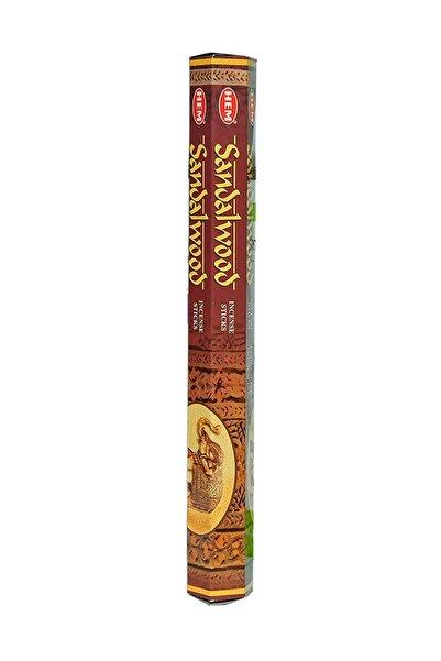 Hem Tütsü Sandal Ağacı Kokulu 20 Çubuk Tütsü - Sandalwood