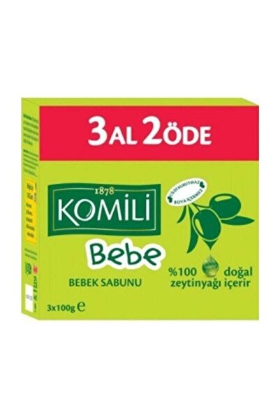 Komili Bebe Komili 3 Al 2 Öde Bebek Sabunu 3X100 gr