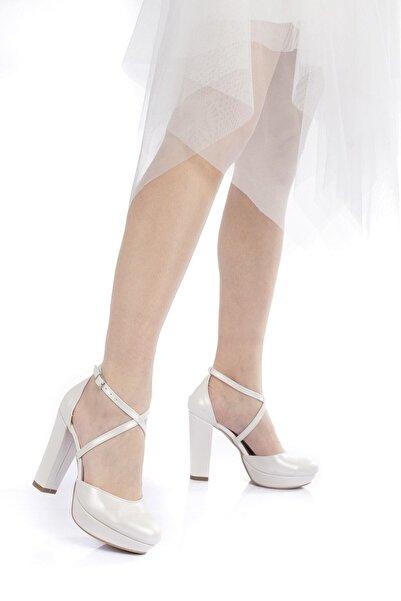 Çnr&Dvs Sedef Cilt Kadın Abiye Ayakkabı 2010cnr