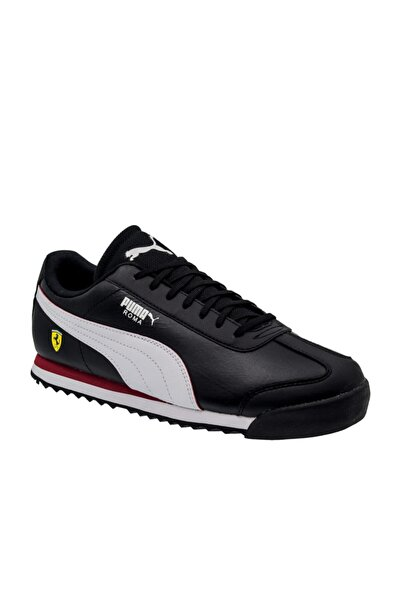 Puma Ferrari Roma Erkek Siyah Spor Ayakkabı