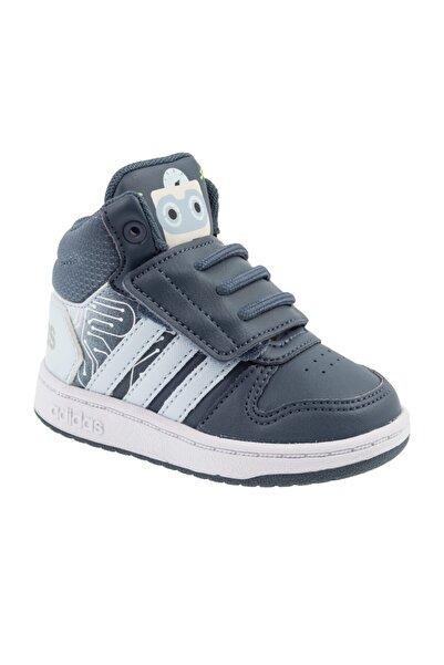 adidas HOOPS MID 2.0 I Lacivert Erkek Çocuk Basketbol Ayakkabısı 101069083