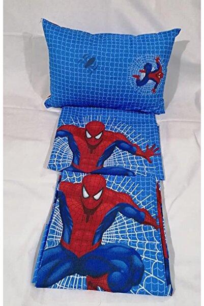 Şahinhome Örümcek Adam Çocuk Nevresim Takımı (Lastikli Çarşaf)
