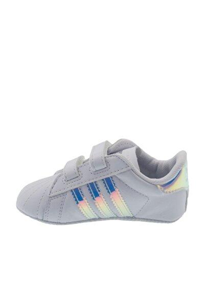 adidas SUPERSTAR CRIB Beyaz Kız Çocuk Kalın Tabanlı Sneaker 100662679