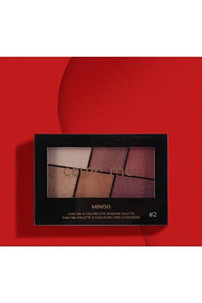 Miniso Color Me 6'lı Far Paleti #2