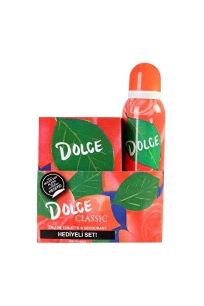 Dolce Classic Edt 100 ml Kadın Parfümü Ve 150 ml Deodorant Seti 8690644012044