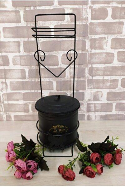 Miss Betty Ferforje Wc Tuvalet Kağıdı Askısı Ve Çöp Kovası Seti