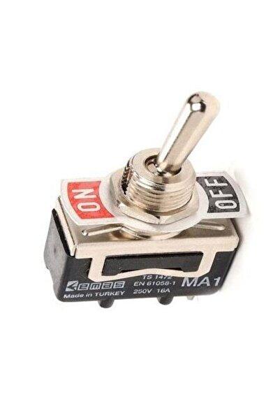 EMAS MA111 Mandallı Anahtar On-Off 250 Volt 16A