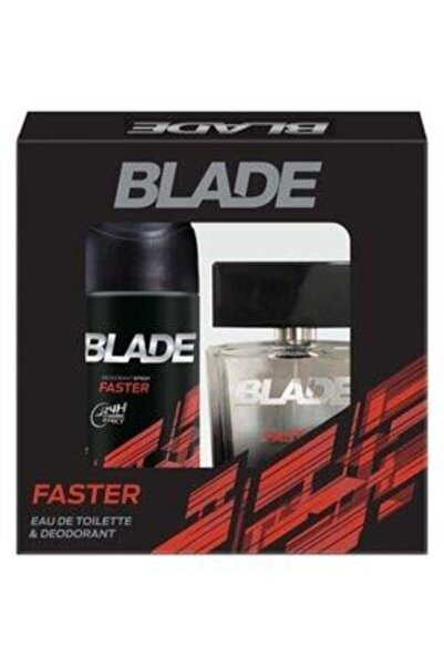 Blade Fasteredt 100 Ml Erkek Parfüm Seti 8690451000896