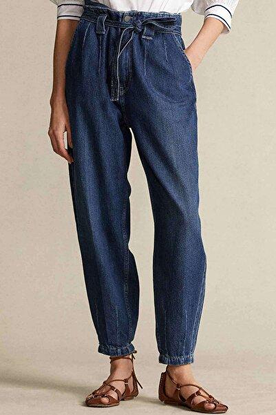 Polo Ralph Lauren Yüksek Bel Kuşaklı Jeans