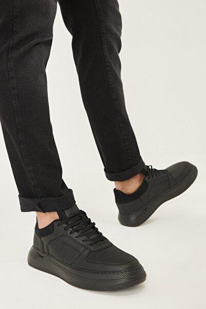 AC&Co / Altınyıldız Classics Erkek Siyah Casual Rahat Ayakkabı