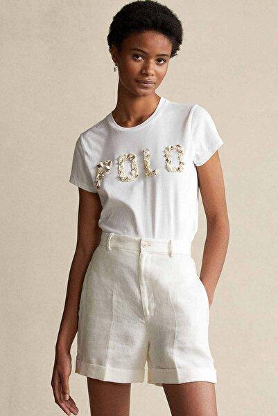 Polo Ralph Lauren Deniz Kabuğu Aksesuar Logolu T-shirt